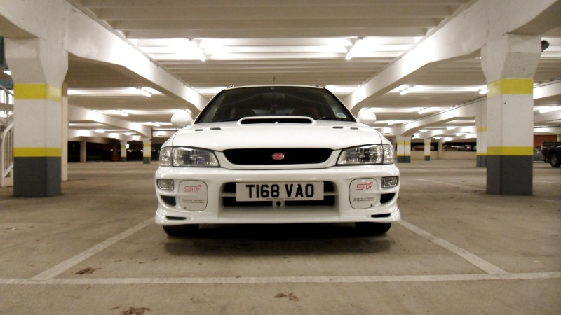 1999 Subaru Impreza WRX STi5 Wagon - White - ScoobyNet.com ...